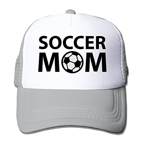Adult Unisex Soccer Mom 100% Nylon Mesh Caps One Size Fits Most Hip-Hop Caps Adjustable