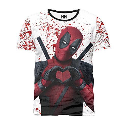 Noorhero T-Shirt Herren - Deadpool Love