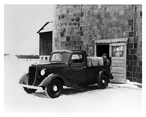 1936 Ford Pickup Truck Factory Photo