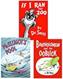 """Award Winning Seuss"" 3-Book Set ""If I Ran the Zoo"" ""McElligot's Pool"" ""Bartholomew and the Oobleck"""