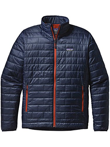 Mens blue navy w Nano paintbrush Puff Jacket re aAUrH8aq