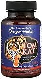 Dragon Herbs TomKat - 250 Mg - 100 Vegetarian Capsules - 100% Natural Certified Tongkat Ali Root, Longjack Premium Grade, 125:1 Pure Extract, Vegan, Non-GMO, Gluten Free, Natural Herbal Testosterone