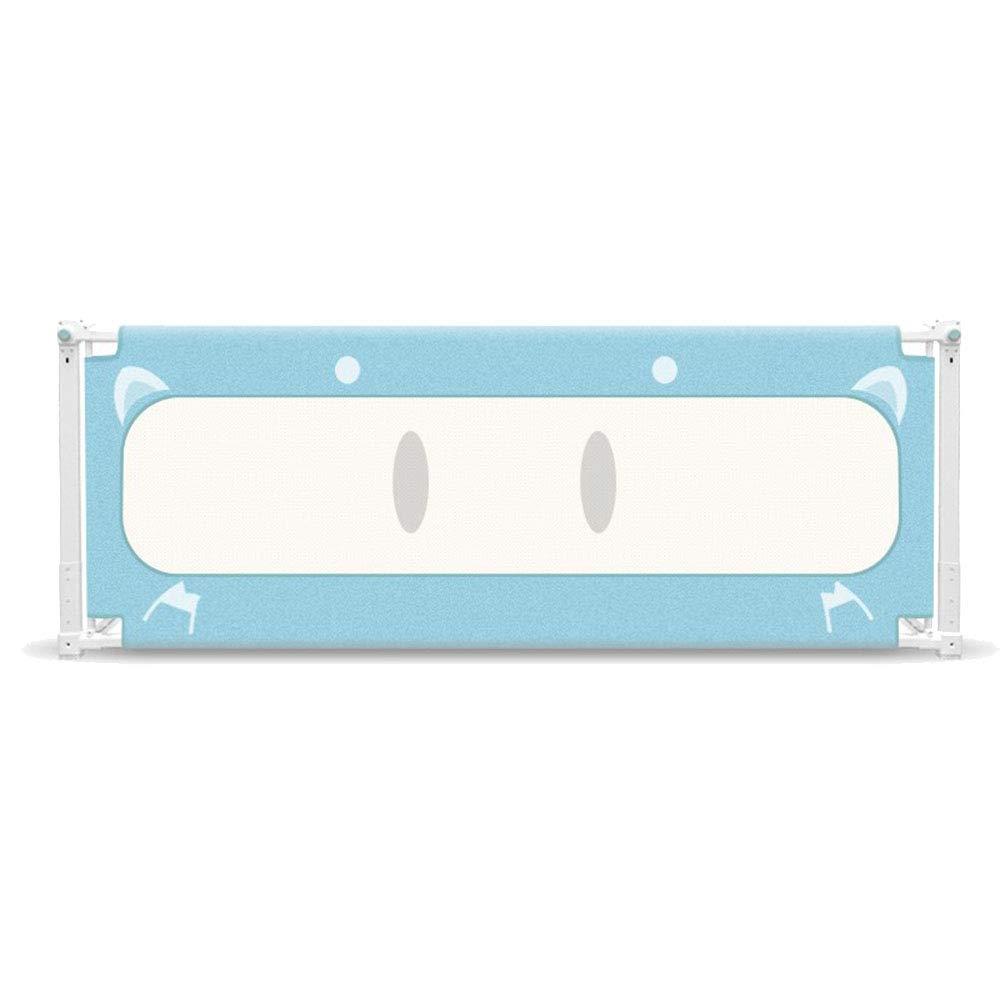 LHA ベッドガードフェンス ベッドガードレール折りたたみ安全ベビーシールド - (サイズはオプション) (色 : 青, サイズ さいず : L-150cm) L-150cm 青 B07JFWFXHJ