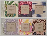 6 Aerin Waterlily Sun, Amber Musk, Ikat Jasmine 0.07 Oz/2 Ml Spray Sample Vial Lot Set