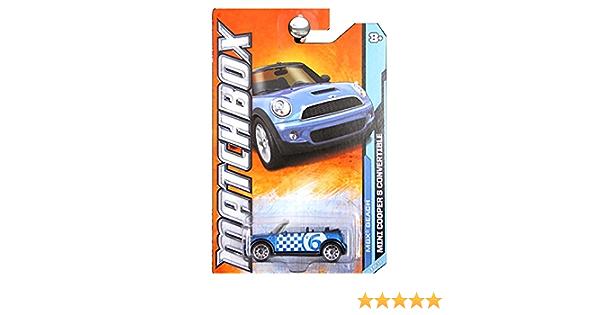 2011 Matchbox MBX Beach Mini Cooper Convertible #3