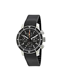 Fortis Cosmonauts Chronograph Black Dial Mens Watch 638.10.11 K