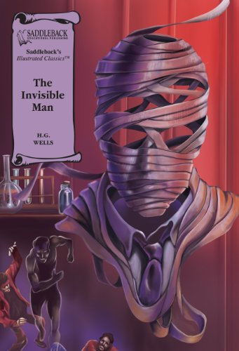 The Invisible Man-Illustrated Classics-Read Along by Saddleback Educational Publishing