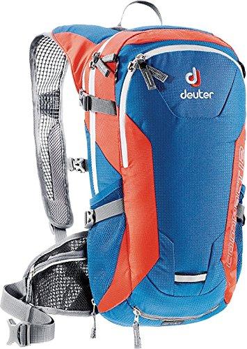 Deuter 3200215 39050 Bay/Papaya Compact EXP 12 Backpack - Perfect for Hiking, Biking, Hunting, Off-road and Motorcycling