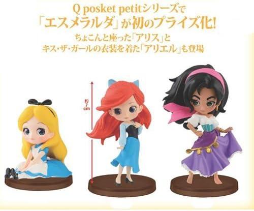 Q Posket Disney Characters Petit Ariel Cinderella Pocahontas Figure Set Qposket