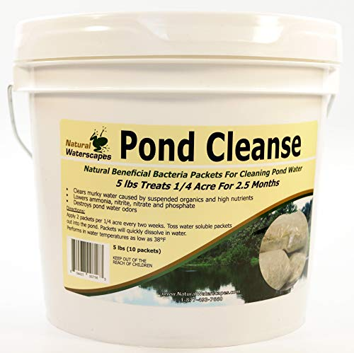 (Pond Cleanse Bacteria Packets 5 lb)