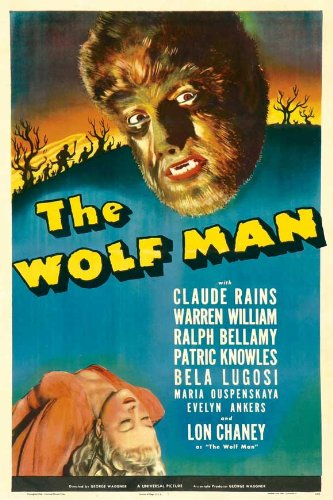 Image result for wolfman poster