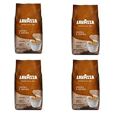 Lavazza, Crema e Aroma Whole Bean Coffee, 2.2 lb - 4 Bags