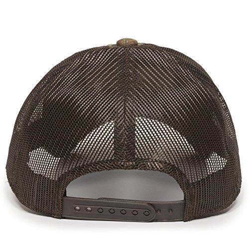 Review Outdoor Cap Men's Camouflage Americana Cap, Mossy Oak Break-up Country/Brown