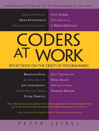 Coders at work reflections on the craft of programming livros na coders at work reflections on the craft of programming livros na amazon brasil 9781430219484 fandeluxe Gallery