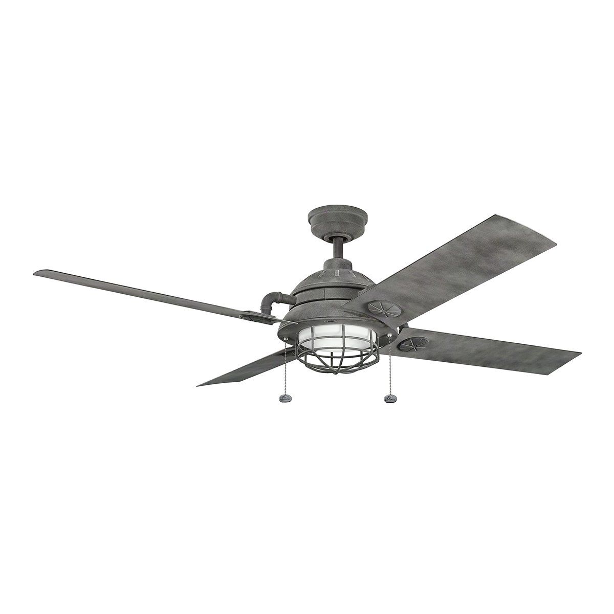 Kichler 310136DBK, Ceiling Fan Distressed Black 65