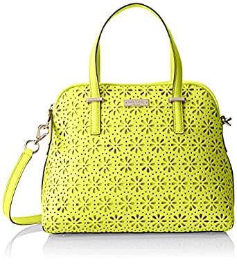 kate spade new york Cedar Street Perforated Maise Cross Body Bag,Bright Cubanelle,One Size