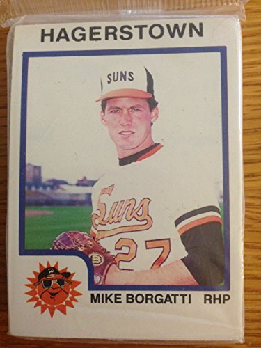 1987 PRO CARDS INC. HAGERSTOWN SUNS MINOR LEAGUE TEAM SET MINT FACTORY - Hagerstown Stores