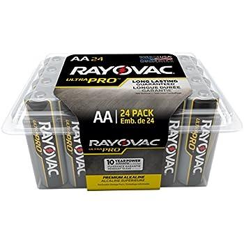 Amazon.com: RAYOVAC AA Ultra Pro Alkaline Batteries, 24
