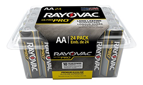Rayovac Batteries ALAA-24F Ultra Pro AA Alkaline Batteries,