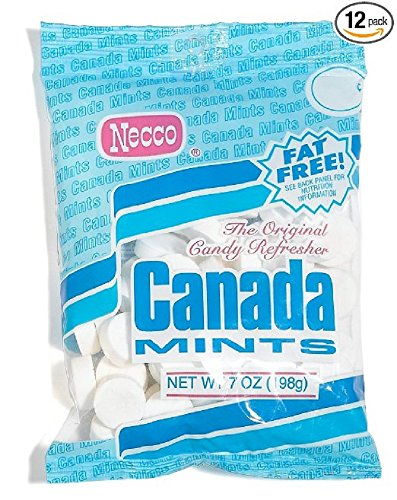 NECCO Canada Mints, The Original Candy Refresher, 7-Ounce...