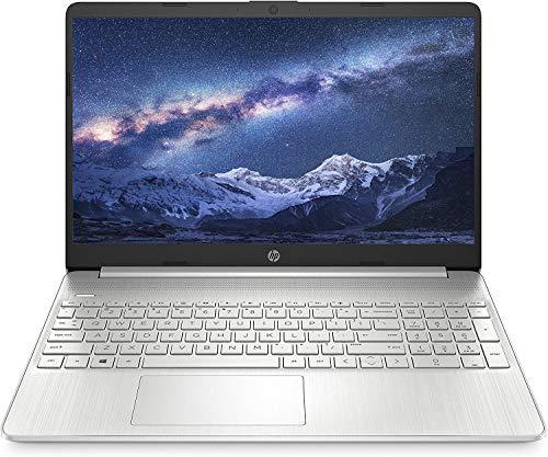 HP 15s gr0008au 15.6-inch Laptop (Ryzen 3 3250U/4GB/1TB HDD + 256GB SSD/Windows 10 Home/AMD Radeon Graphics), Natural Silver