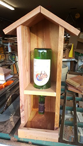 bird feeder wine bottle - 6