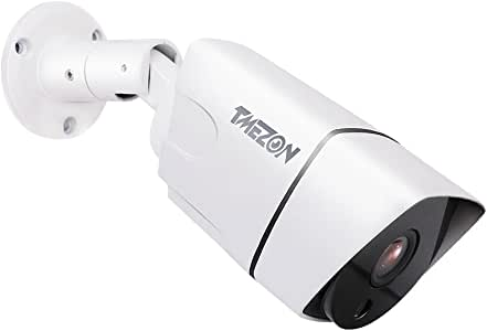 TMEZON Hybrid AHD Camera 2.0MP 1080P AHD/CVI/TVI/960H Bullet CCTV Security Camera Day Night Vision 36 IR LEDs Waterproof Outdoor/Indoor Wide Angle 2.8mm Lens (Default AHD Mode) with OSD