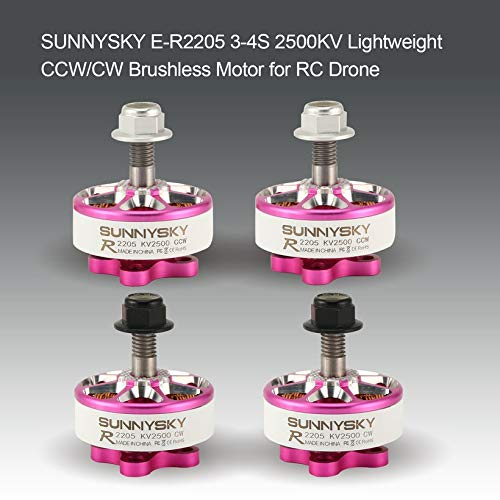 Wikiwand SUNNYSKY E-R2205 3-4S 2500KV Lightweight CW/CCW Brushless Motor for RC Drone by Wikiwand (Image #2)