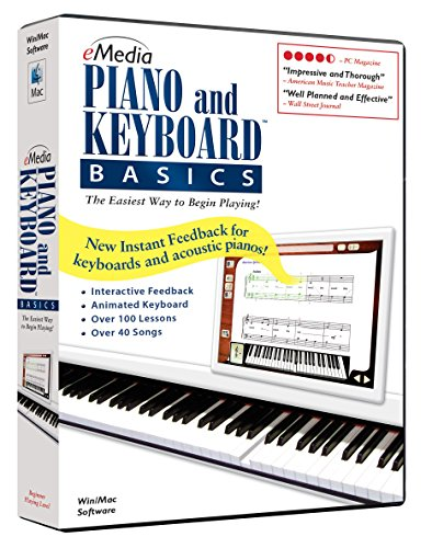 eMedia Piano and Keyboard Basics v3 - Emedia Piano Software