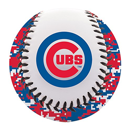 Cubs Logo Baseball - Franklin Sports MLB Chicago Cubs Digi Camo Soft Strike Baseball