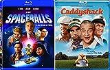 Caddyshack + Spaceballs Blu Ray Mel Comedy Spoof Set double feature bundle