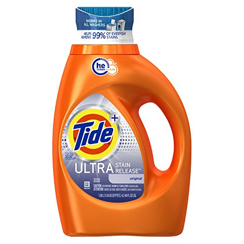 Tide Liquid Laundry Detergent, Ultra Stain Release, 46 - Product Tide New