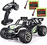 #9: SIMREX A120 RC Cars High Speed 20MPH Scale RTR Remote Control Brushed Monster Truck Off Road Car Big Foot RC 2WD Electric Power Buggy W/2.4G Challenger Green