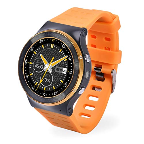 ZGPAX S99 GSM 3G Quad Core Android 5.1 Smart Watch with 5.0 MP Camera GPS WiFi V4.0 Pedometer Heart - Camera Gsm Mp 5
