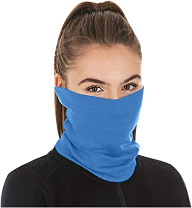 Sunday 5PC Neck Gaiter Face Scarf Bandanas with Safety Carbon Filters Ride Sport Bandana