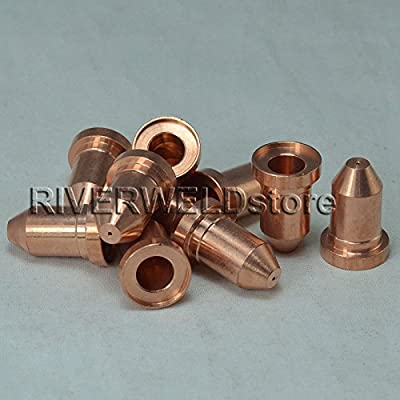 192052 Plasma Nozzles 40A Extended Fit For Miller ICE-40C 55C 10PK