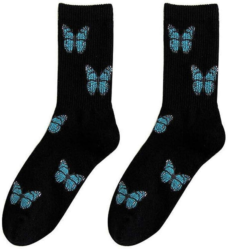 Ruffles Socks Women/'s Socks Cute Socks Mid-tube Socks Streetwear College Style H