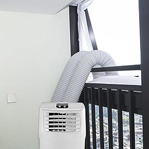 HOOMEE 300CM Guarnizione Universale per Finestre per Condizionatore Portatile, Asciugatrice – per Tutti Climatizzatori… 16 spesavip