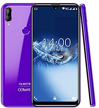 "(2019) 4G mobile phone unlocked, OUKITEL C16 Pro Android 9 0 Pie smartphone  DUAL SIM - MT6761 Quad-core 2 0GHz 3GB +32GB, 5 71"" HD+ Waterdrop screen"