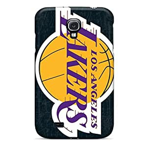Durable Case For The Galaxy S4- Eco-friendly Retail Packaging(los Angeles Lakers)