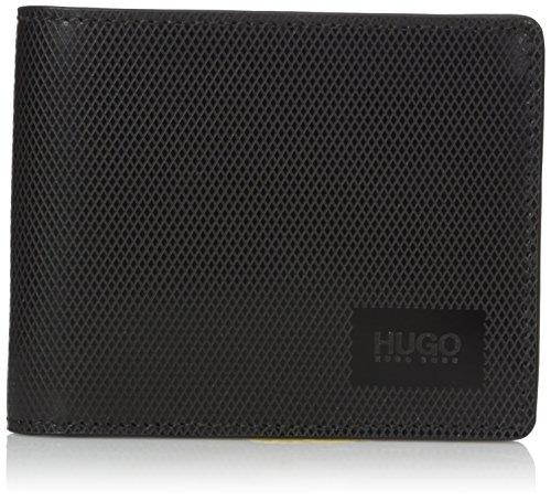 Hugo Hugo Boss Men's Mercury 6 Credit Card Leather Wallet, black, One Size