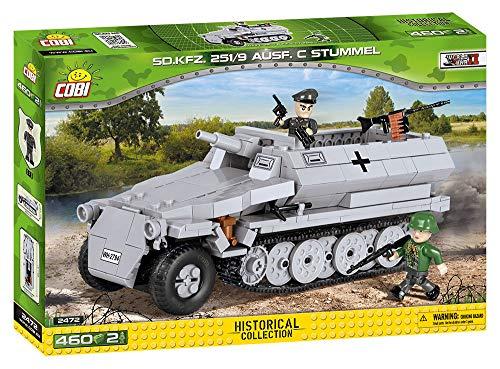 COBI Small Army SD. KFZ. 251/10 Ausf. C Vehicle