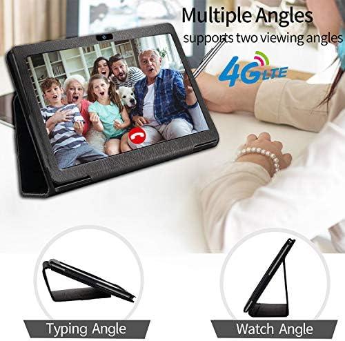 10.1 inch Tablet with Keyboard Case Quad-Core 1.3Ghz Processor, 3 GB RAM, 32 GB Storage, Android 9.0 (Go Edition) 1280×800 IPS HD Display, 8MP Rear Camera, Bluetooth, Wi-Fi, USB, GPS-Black 51vhHKz 2BygL