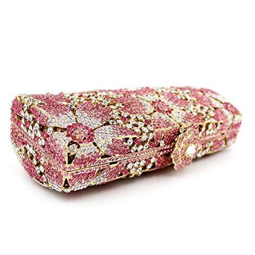 sac pêche à de cristal strass clouté métal de en soirée style Sac de creux en main la sac fIXUwdZx