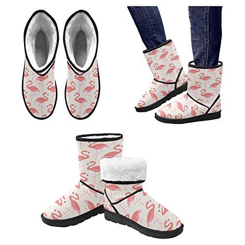 InterestPrint Womens Snow Boots Unique Designed Comfort Winter Boots Multi 10 dMX3sUwoT