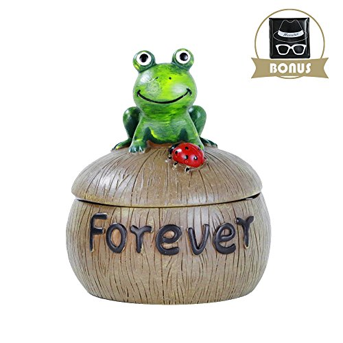 Monsiter Cigarette Ashtray Outdoor Creative Frog Ashtray with Lid for Home (Best Tips To Quit Smoking Weed)