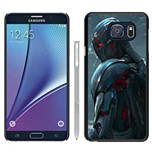 Hot Sale Samsung Galaxy Note 5 Case ,Ultron in Avengers Age of Ultron(1) Black Samsung Galaxy Note 5 Cover Unique And Beautiful Designed Phone Case