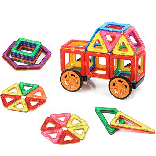 Building Toys For Boys : Quadpro piece magnetic blocks building toys for boys