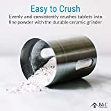 Pill Grinder - Stainless Steel Tablet & Vitamin