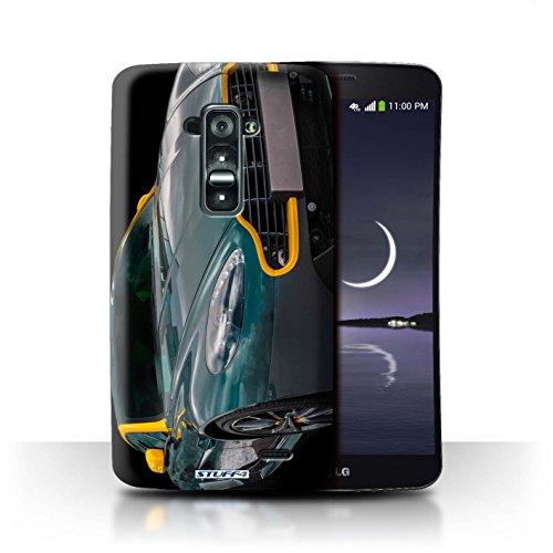STUFF4 Phone Case / Cover for LG G Flex D955/D958 / Vantage N430/Bonnet Design / Aston Martin Collection